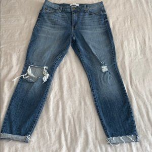 Pistola High Rise Distressed Skinny 30